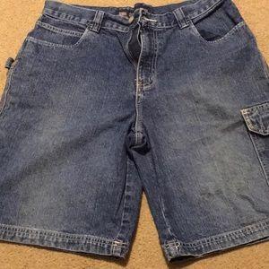 Faded Glory Men's carpenter shorts 33w